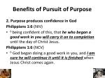 benefits of pursuit of purpose1