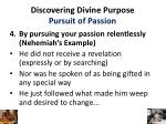 discovering divine purpose pursuit of passion