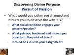 discovering divine purpose pursuit of passion1