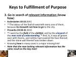 keys to fulfillment of purpose2