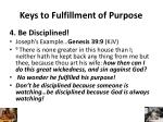 keys to fulfillment of purpose3