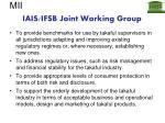 iais ifsb joint working group