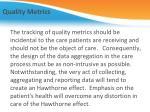 quality metrics3