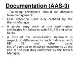 documentation aas 3