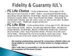 fidelity guaranty iul s
