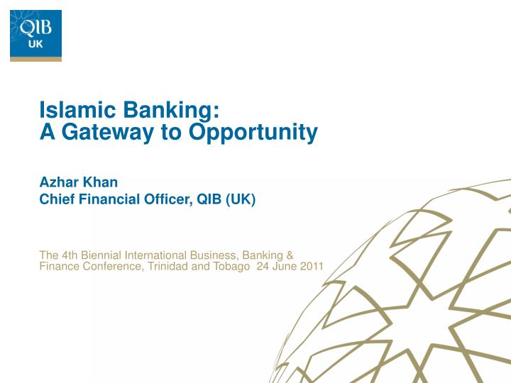 azhar khan chief financial officer qib uk n.