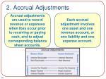 2 accrual adjustments1
