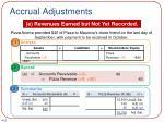 accrual adjustments