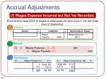 accrual adjustments1