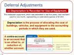 deferral adjustments3