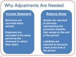 why adjustments are needed2