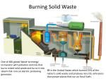 burning solid waste