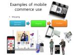 examples of mobile commerce use