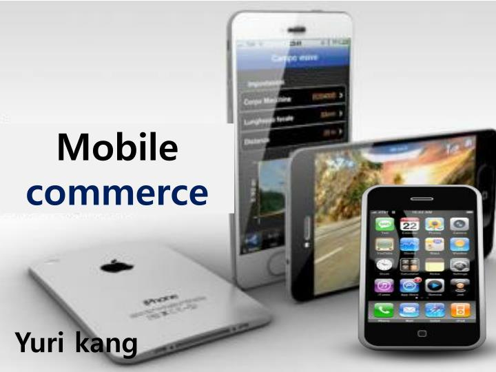 mobile commerce n.