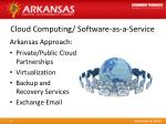 cloud computing software as a service