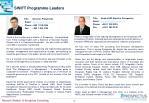 swift programme leaders