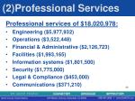 2 professional services