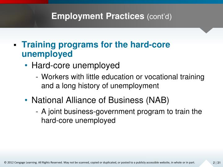 Employment Practices