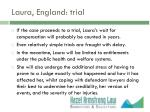 laura england trial