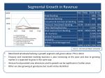 segmental growth in revenue
