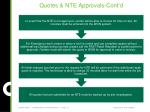 quotes nte approvals cont d