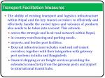 transport facilitation measures1