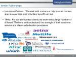 vendor partnerships