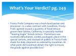 what s your verdict pg 249