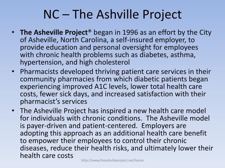 NC – The Ashville Project