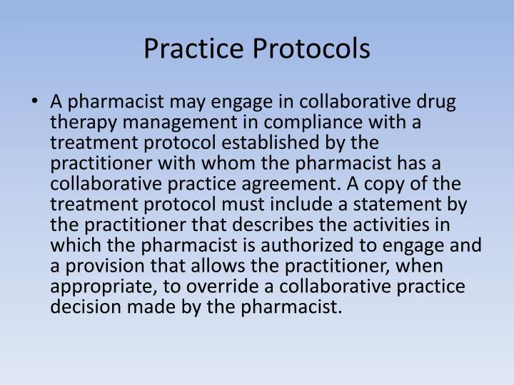Practice Protocols