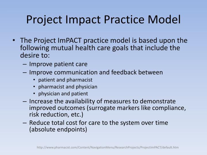 Project Impact Practice Model