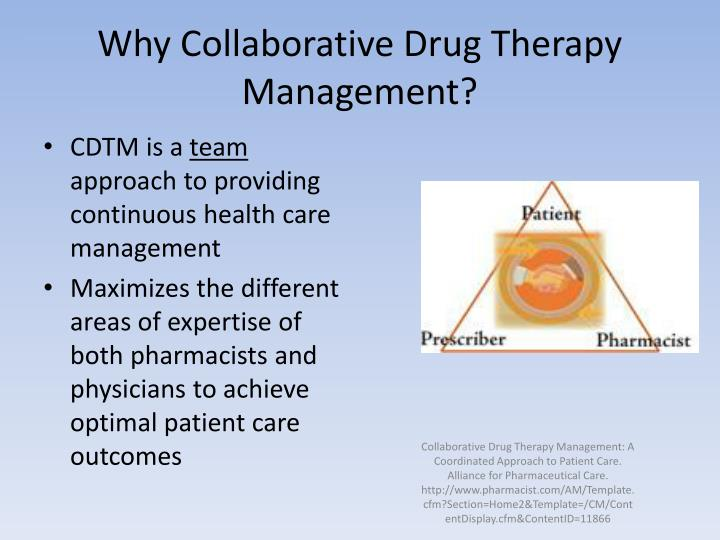 Why Collaborative Drug Therapy Management?