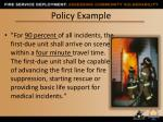 policy example