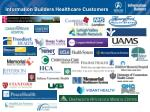 information builders healthcare customers