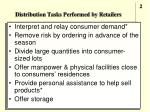 distribution tasks performed by retailers1