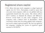 registered share capital