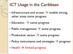 ict usage in the caribbean