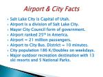 airport city facts