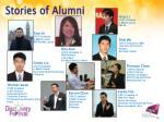 stories of alumni