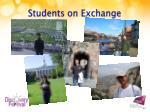 students on exchange1