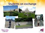 students on exchange2