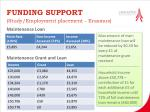 funding support study employment placement erasmus