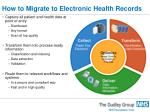 how to migrate to electronic health records