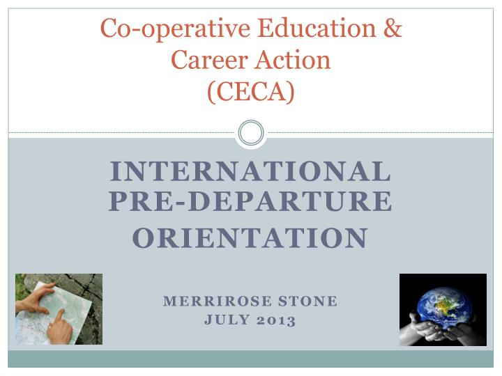 co operative education career action ceca n.