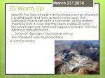 es warm up68