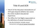 title ix and ocr1