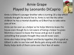 arnie grape played by leonardo dicaprio