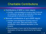 charitable contributions6