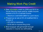 making work pay credit