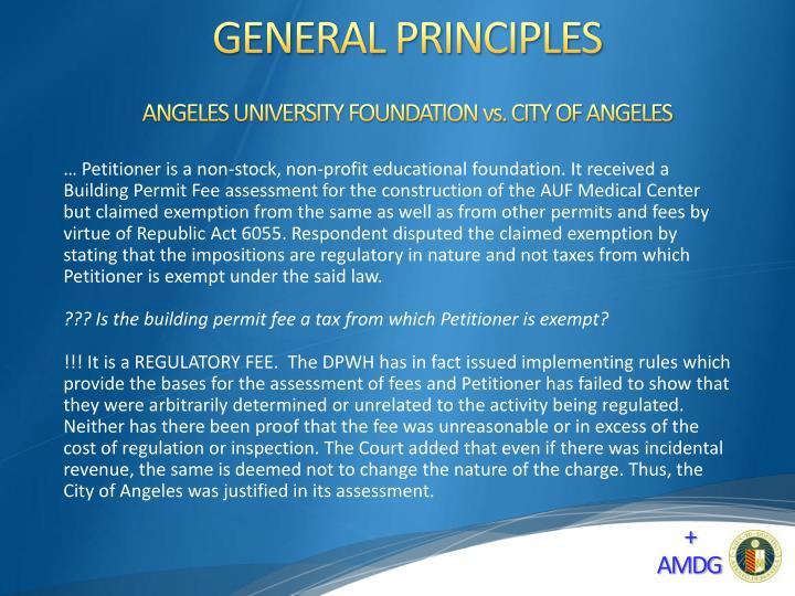General principles1
